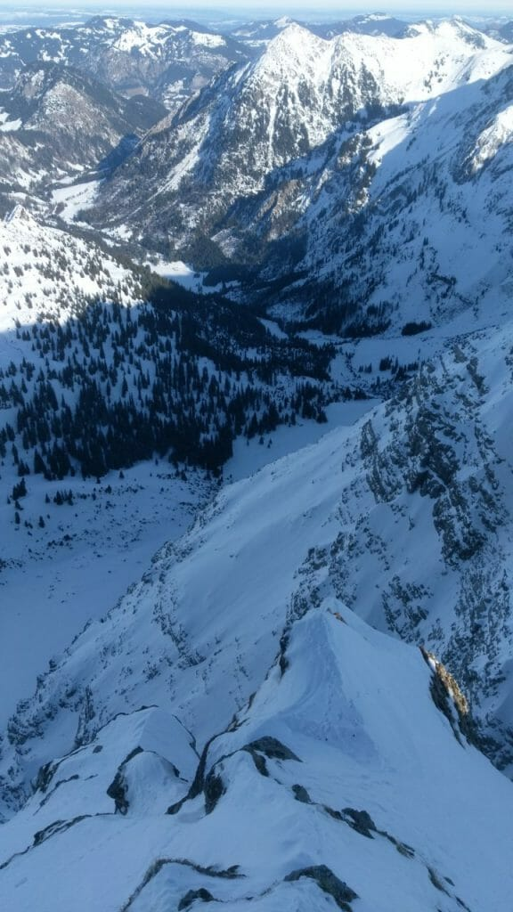 Walking the Nebelhorn