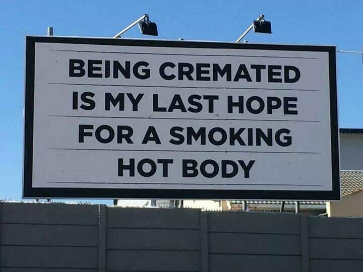 Being Cremated